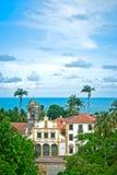 kościelna tropikalna wioska Obraz Royalty Free