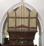 Kościelne organowe drymby Zdjęcie Stock