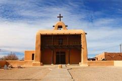 Kościelne Osady Nowy Meksyk Zdjęcie Royalty Free