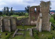 kościelne ruiny Fotografia Royalty Free