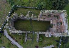 kościelne ruiny Zdjęcia Royalty Free