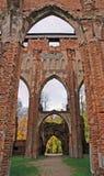kościelne ruiny Zdjęcie Royalty Free