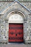 kościelni drzwi Zdjęcie Royalty Free