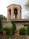 KOŚCIELNI dzwony W WIELKIM METEORON monasterze, GRECJA Obrazy Stock