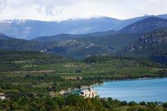 kościelni mipanas Pyrenees Zdjęcia Stock