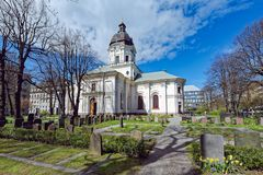 kościelny Adolf frederick Stockholm Zdjęcie Royalty Free