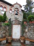 KOŚCIELNY BELL W WIELKIM METEORON monasterze, GRECJA Obraz Royalty Free