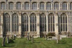 kościelny cmentarz Obraz Royalty Free
