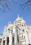 kościelny coeur France Paris sacre Zdjęcia Royalty Free