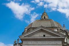 kościelny dei Maria miracoli Santa Obraz Stock