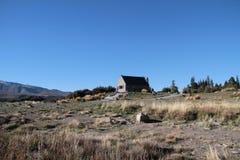 kościelny dobry jeziora bacy tekapo zdjęcie stock
