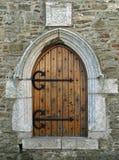 kościelny drzwiowy stary Zdjęcie Royalty Free