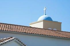 kościelny Greece grecki ia wysp santorini typowy Obrazy Stock