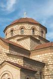 kościelny Greece grecki ia wysp santorini typowy Zdjęcia Stock