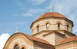kościelny Greece grecki ia wysp santorini typowy Zdjęcia Royalty Free