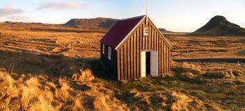 kościelny icelandic Obraz Royalty Free
