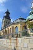 kościelny iversky monasteru Russia terytorium widok Fotografia Stock