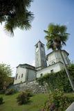 kościelny jeziorny maggiore Fotografia Royalty Free