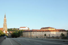 kościelny lanshut oknówki st teatru trausnitz Zdjęcie Stock