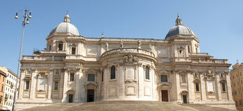 kościelny maggiore Maria Santa Fotografia Stock