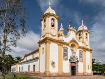 Kościelny Matriz De Santo Antonio, Tiradentes - Obraz Stock