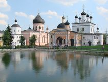 Kościelny monaster Obraz Royalty Free