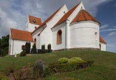 Kościelny nave Lindelse Obrazy Stock