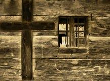 kościelny okno zdjęcie stock