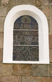 kościelny okno obraz stock