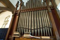 kościelny organ Obraz Royalty Free