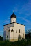 kościelny rosyjski biel Obrazy Stock