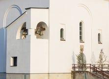 kościelny rosyjski biel Zdjęcie Royalty Free
