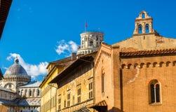 Kościelny San Giorgio ai Tedeschi w Pisa Fotografia Royalty Free