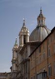 Kościelny Sant'Agnese w Agone Zdjęcia Royalty Free