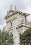 Kościelny Santa Francesca Romana roman forum Fotografia Royalty Free
