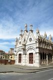 Kościelny Santa Maria De Los angeles Spina Pisa Zdjęcia Stock