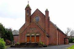 Kościelny st convels Pollock Glasgow obrazy royalty free