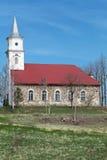 kościelny stary wiejski Obraz Stock