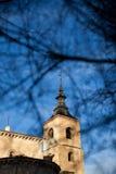 Kościelny steeple   Zdjęcie Royalty Free