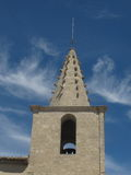 Kościelny steeple w Avignon, Francja Fotografia Royalty Free