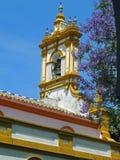 Kościelny steeple z dzwonem Zdjęcie Royalty Free