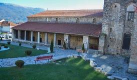 Kościelny StSophia w Ohrid Zdjęcia Royalty Free