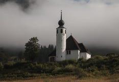 Kościelny StVinzenz w Weissbach dera Alpenstrasse, Bavaria Zdjęcie Royalty Free