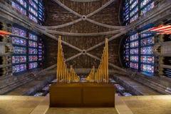 Kościelny sufit fotografia royalty free