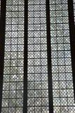 kościelny szklany okno Obrazy Royalty Free