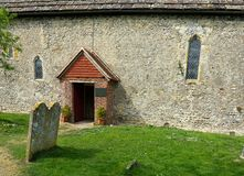 Ko?cielny wej?cie St Botolphs kościół Botolphs, Sussex, UK obrazy stock