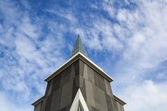 Kościelny wierza i niebo Zdjęcia Stock