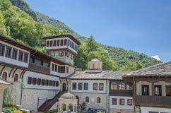 Kościelny wierza Macedonia - Bigorski monaster - Zdjęcie Stock