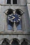 Kościelny zegarowy wierza zdjęcia royalty free