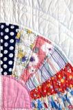 kołderki patchwork kwadraty Zdjęcia Stock
